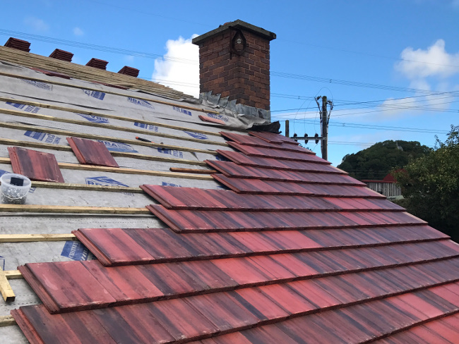Sarking a new roof - PAL, Newport, Shropshire.